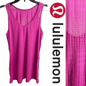 Lululemon Pink Tank Top Size M